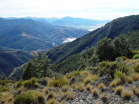 Lees Valley and the North Canterbury foothills