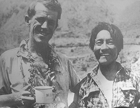 Edmund Hillary and Tenzing