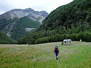 Lees Creek Hut, off the Rainbow Road