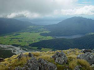 Lake Brunner from Rangi Taipo